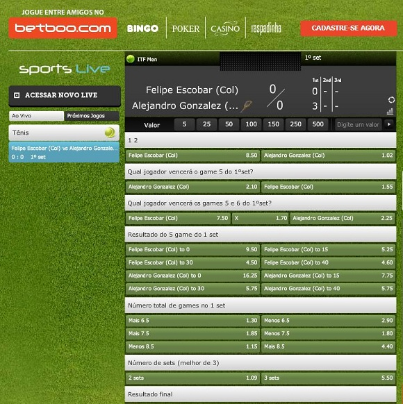 Betboo sports